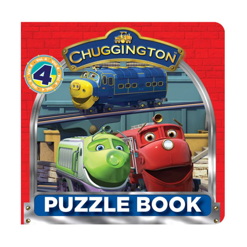 Ludorum Chuggington Vol 4 Buku Puzzle