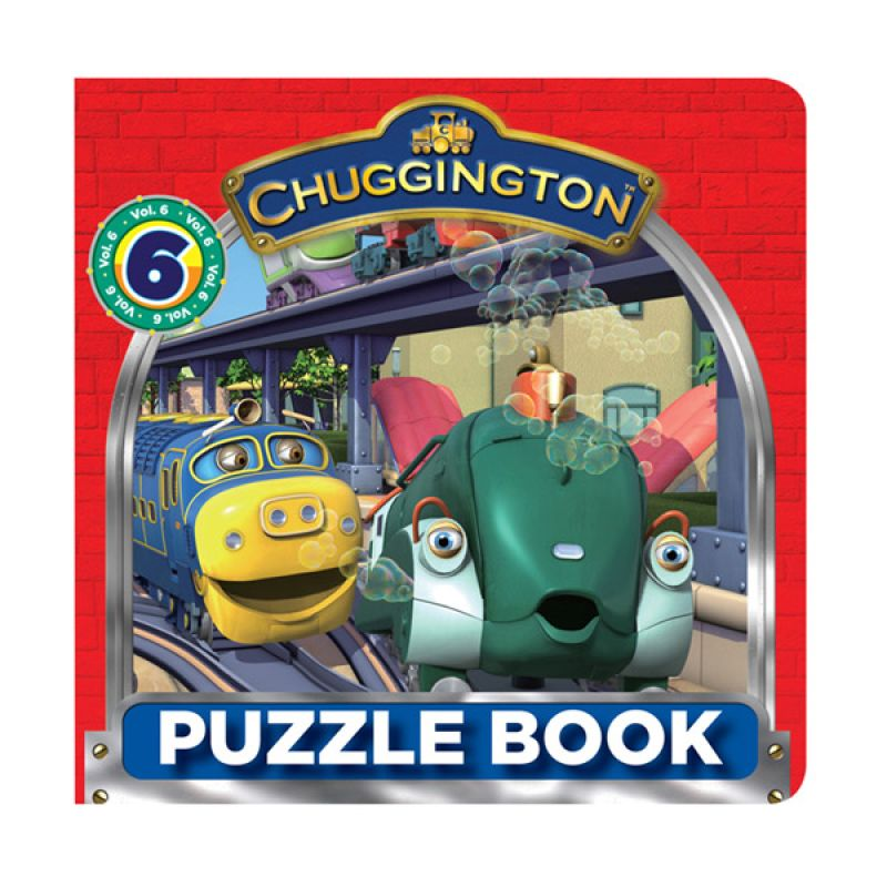 Ludorum Chuggington Vol 6 Buku Puzzle
