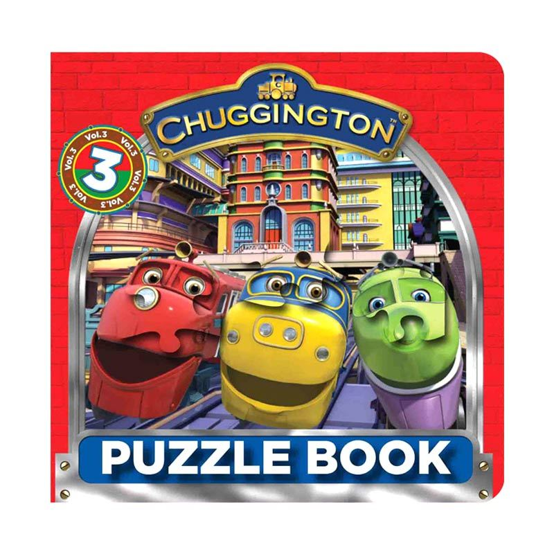 Ludorum Chuggington Vol 3 Buku Puzzle