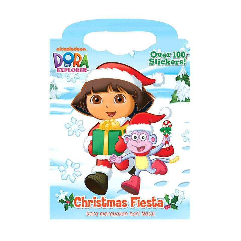 Nickelodeon Dora Christmas Fiesta Buku Anak