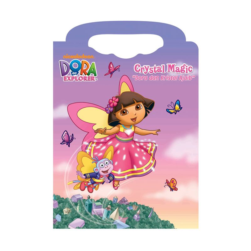 Nickelodeon Dora Crystal Magic Buku Anak