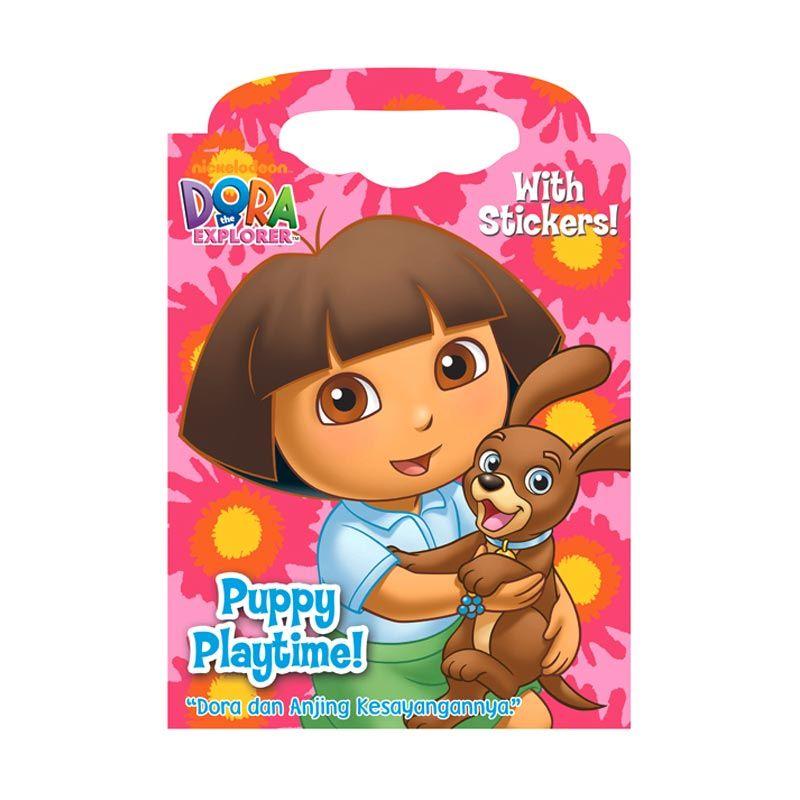 Nickelodeon Dora Puppy Playtime Buku Anak
