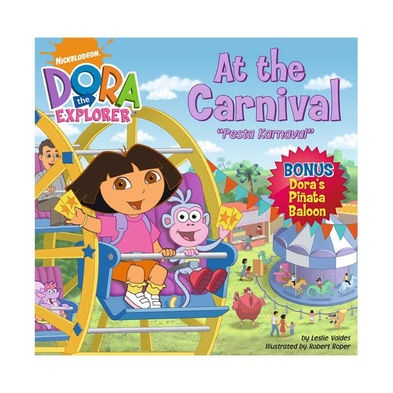 Nickelodeon Dora Story Book At The Carnival Buku Anak