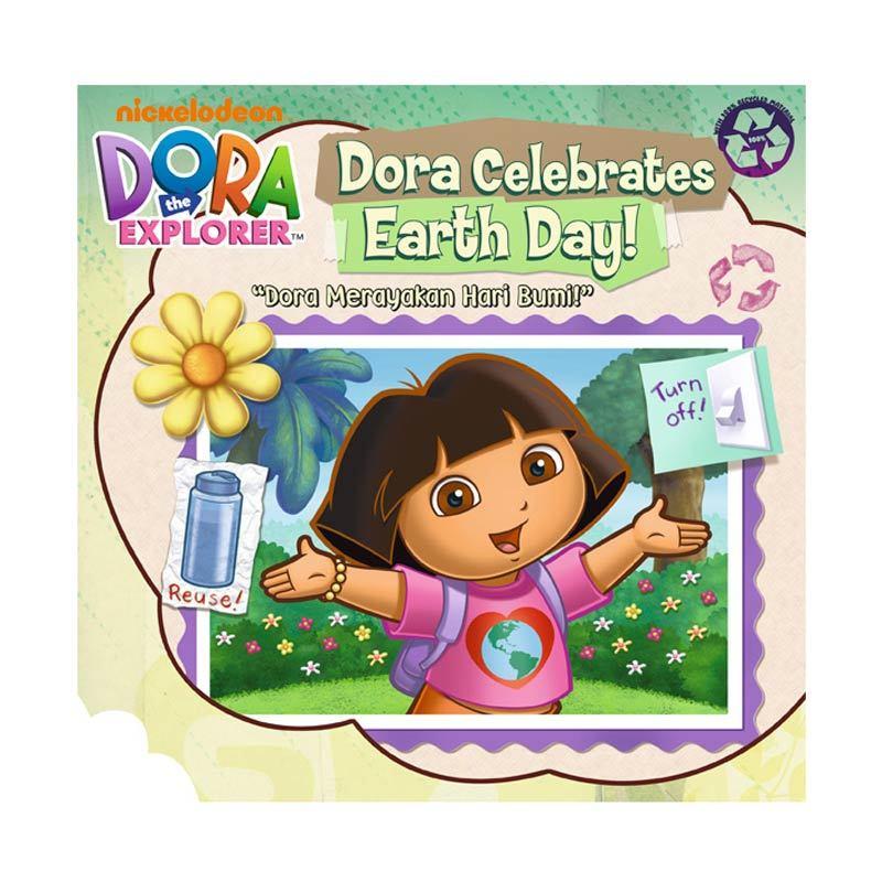 Nickelodeon Dora Story Book Celebrates Earth Day Buku Anak