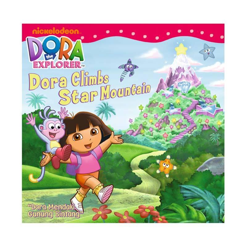 Nickelodeon Dora Story Book Climbs Star Mountain Buku Anak