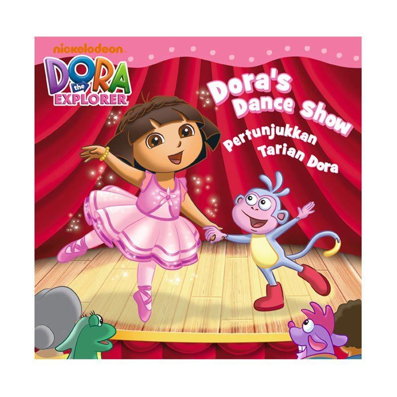 Nickelodeon Dora Story Book Dance Show Buku Anak