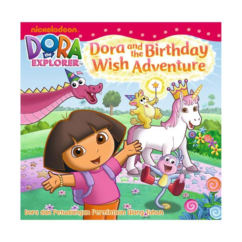 Nickelodeon Dora Story Book Dora and The Birthday Wish Adventure Buku Anak