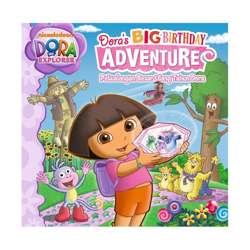 Nickelodeon Dora Story Book Dora's Big Birthday Adventure Buku Anak