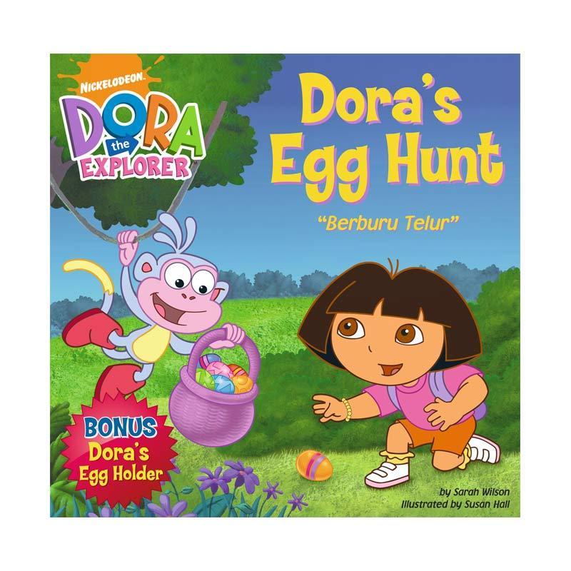 Nickelodeon Dora Story Book Egg Hunt Buku Anak