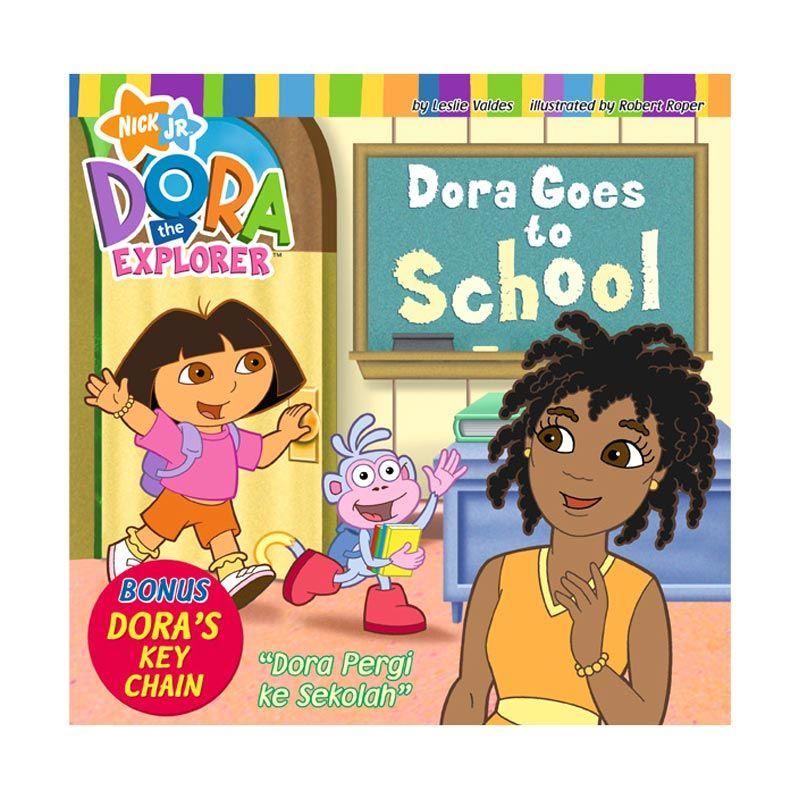 Nickelodeon Dora Story Book Goes to School Buku Anak