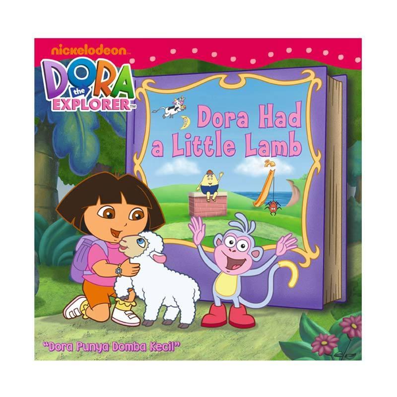 Nickelodeon Dora Story Book Had A Little Lamb Buku Anak