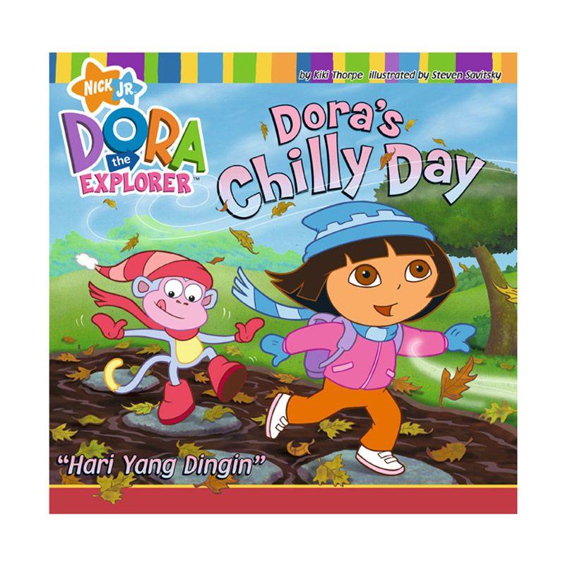 Nickelodeon Dora Story Book Hari yang dingin Buku Anak