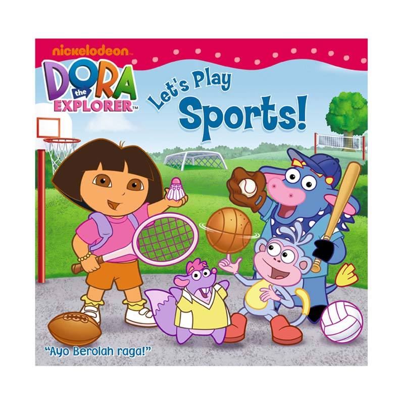 Nickelodeon Dora Story Book Let's Play Sport Buku Anak