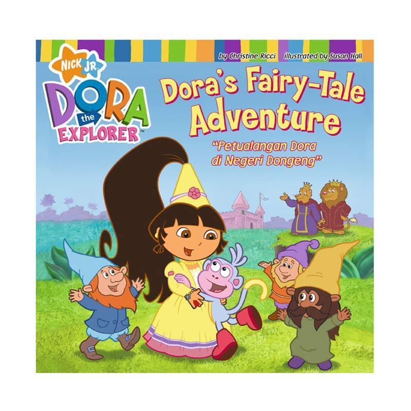 Nickelodeon Dora Story Book Negeri Dongeng Buku Anak