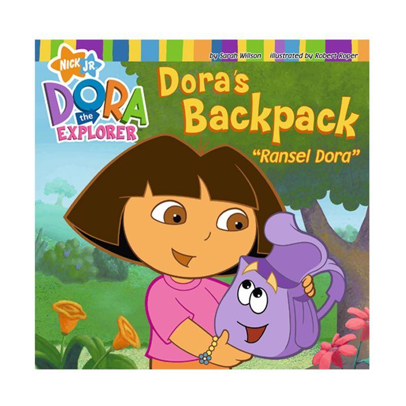 Nickelodeon Dora Story Book Ransel Dora Buku Anak