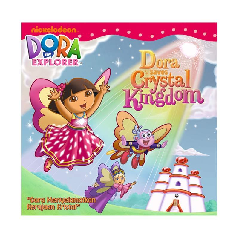 Nickelodeon Dora Story Book Saves Crystal Kingdom Buku Anak
