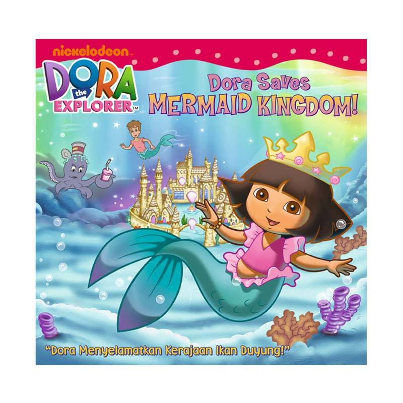 Nickelodeon Dora Story Book Saves Mermaid Kingdom Buku Anak
