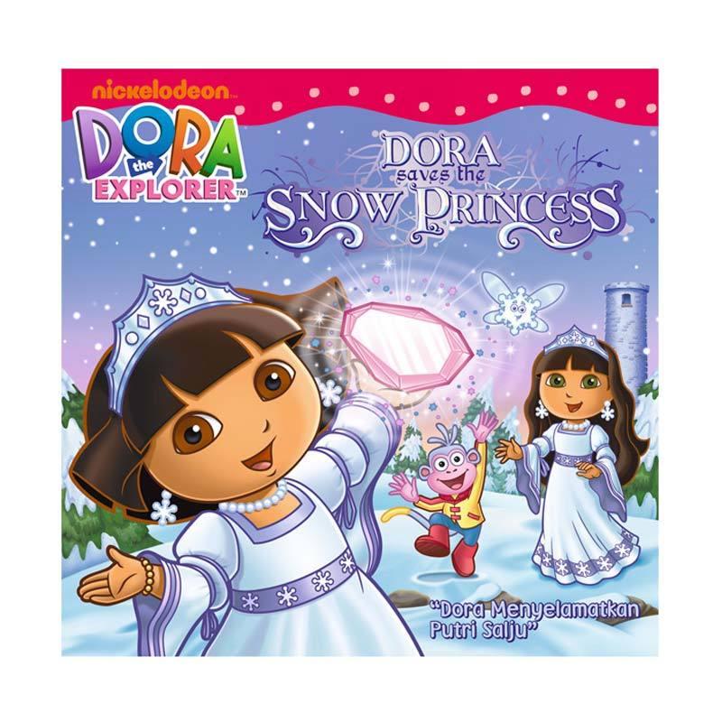 Nickelodeon Dora Story Book Saves The Snow Princess Buku Anak