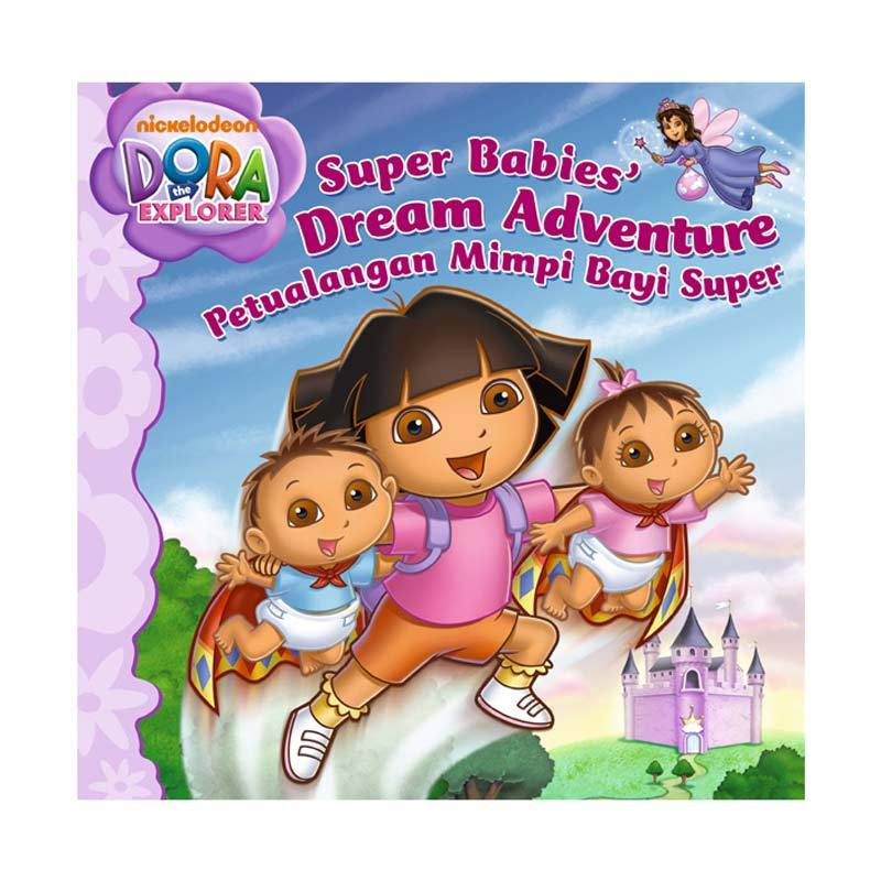 Nickelodeon Dora Story Book Super Babies Dream Adventure Buku Anak