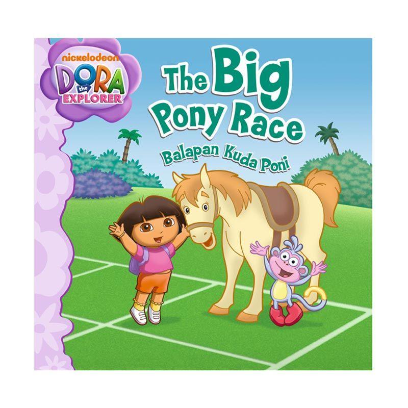 Nickelodeon Dora Story Book The Big Pony Race Buku Anak