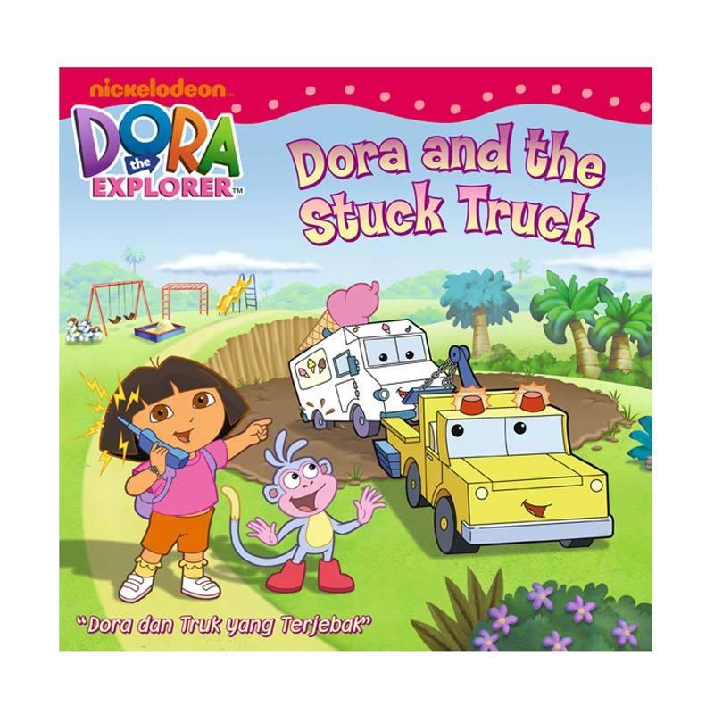Nickelodeon Dora Story Book The Stuck Truck Buku Anak