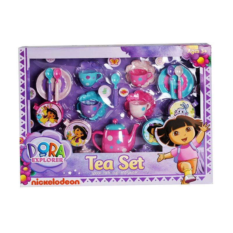 Nickelodeon Dora Tea 01 Set Mainan Anak