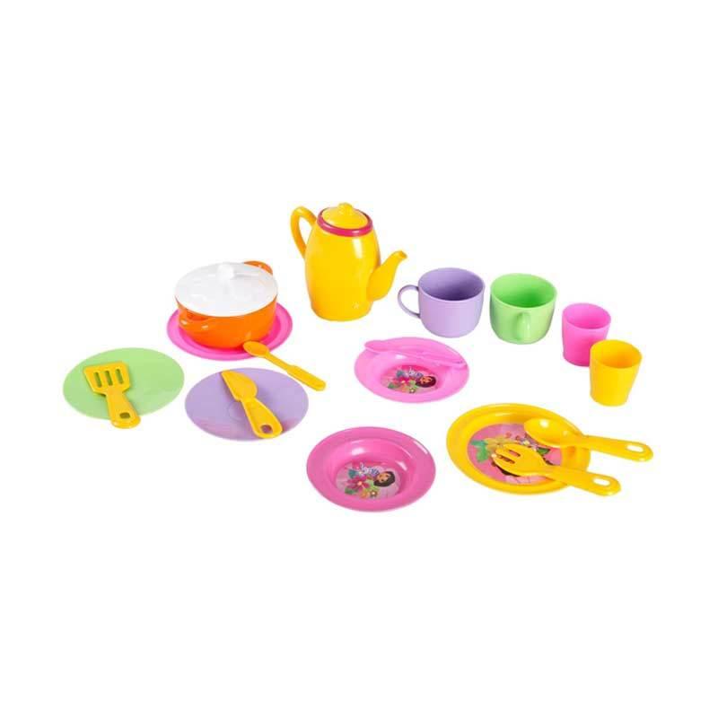 Nickelodeon Dora Tea House 02 Set Mainan Anak
