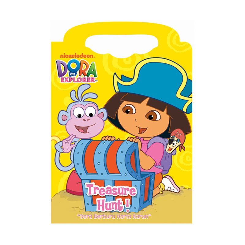 Nickelodeon Dora Treasure Hunt Buku Anak