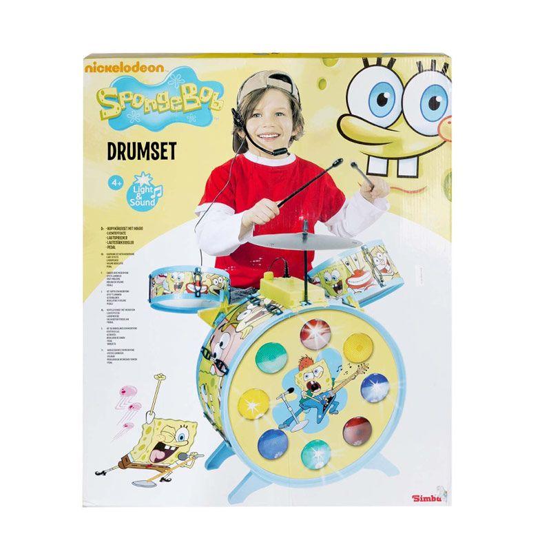 Nickelodeon Drum Spongebob Kuning Mainan Anak