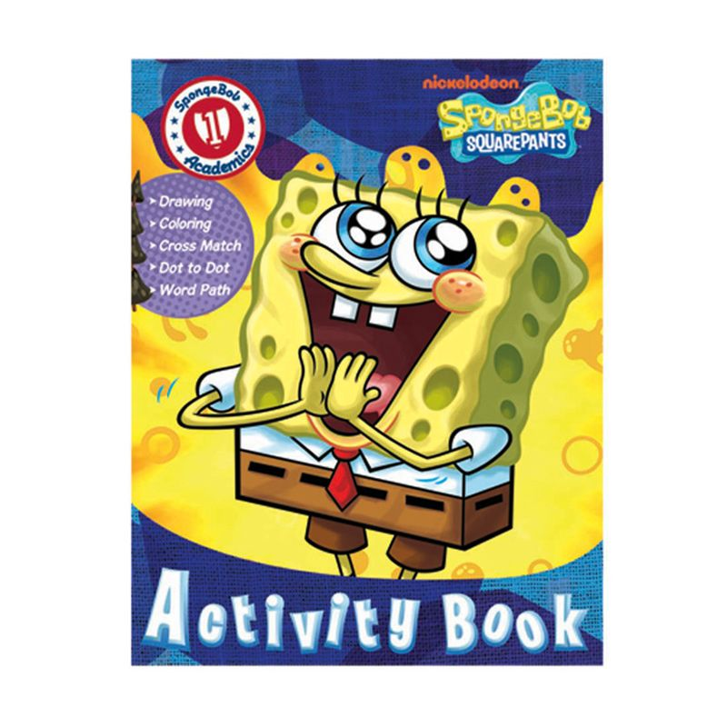 Nickelodeon Spongebob Activity Vol. 01 Buku Anak