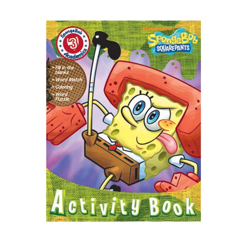 Nickelodeon Spongebob Activity Vol. 03 Buku Anak