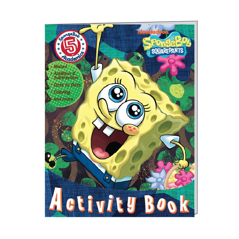 Nickelodeon Spongebob Activity Vol. 05 Buku Anak