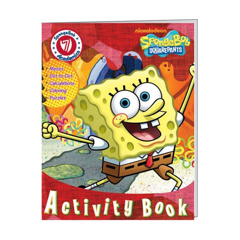 Nickelodeon Spongebob Activity Vol. 07 Buku Anak