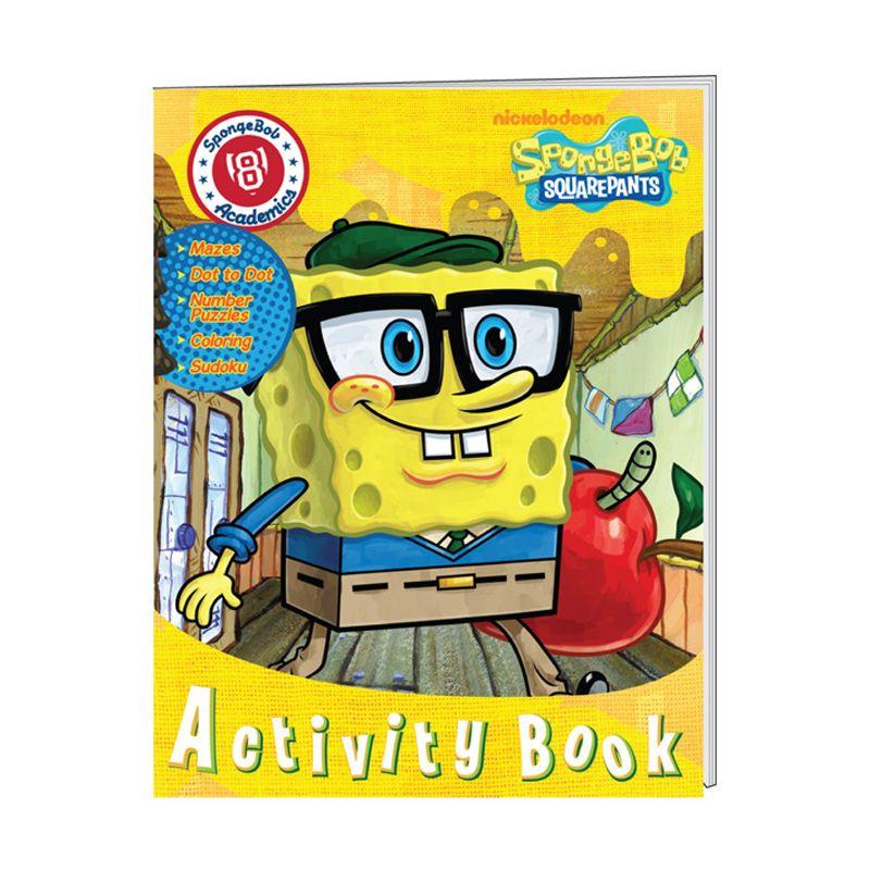 Nickelodeon Spongebob Activity Vol. 08 Buku Anak