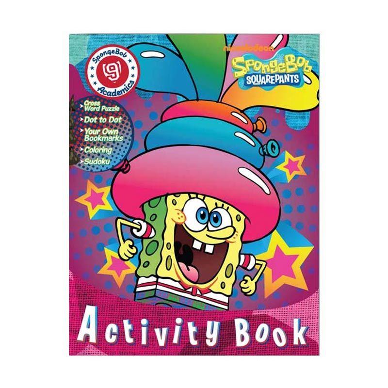 Nickelodeon Spongebob Activity Vol. 09 Buku Anak