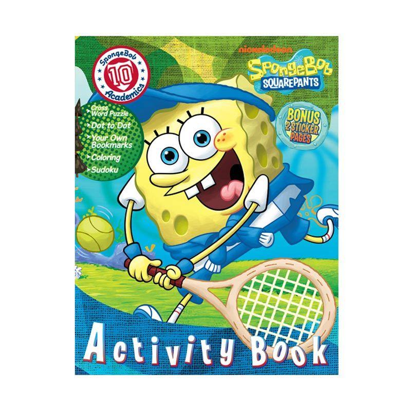 Nickelodeon Spongebob Activity Vol. 10 Buku Anak