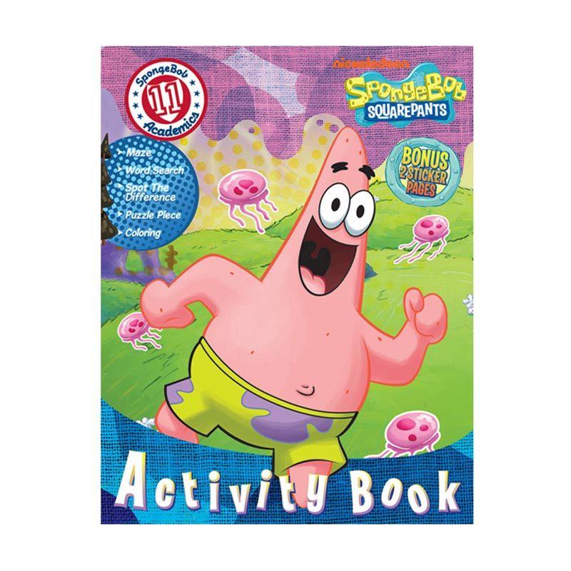 Nickelodeon Spongebob Activity Vol. 11 Buku Anak