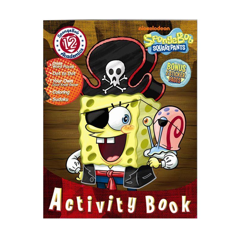 Nickelodeon Spongebob Activity Vol. 12 Buku Anak