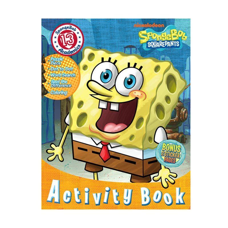 Nickelodeon Spongebob Activity Vol. 13 Buku Anak