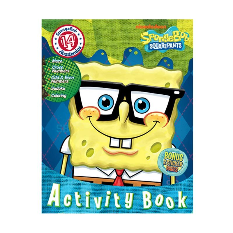 Nickelodeon Spongebob Activity Vol. 14 Buku Anak