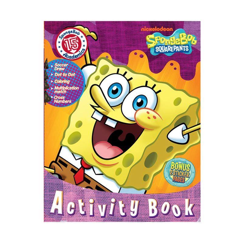Nickelodeon Spongebob Activity Vol. 15 Buku Anak