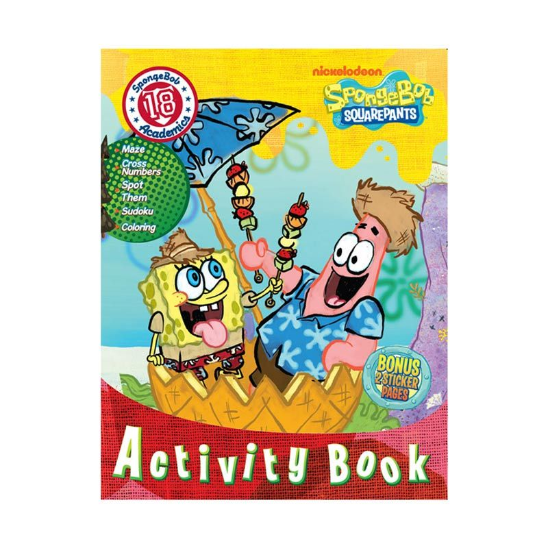 Nickelodeon Spongebob Activity Vol. 18 Buku Anak