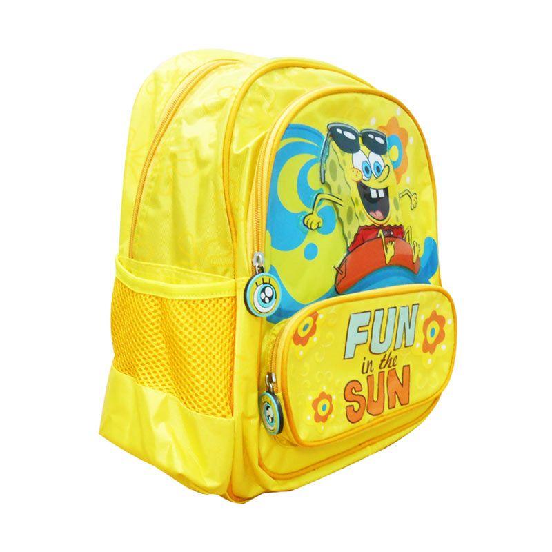 Jual Nickelodeon Spongebob Bag 14 inch Fun In The Sun Tas Sekolah Online -  Harga   458d4c6cda