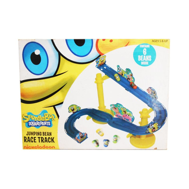 Nickelodeon Spongebob Jumping Bean Race Track Kuning Mainan Anak