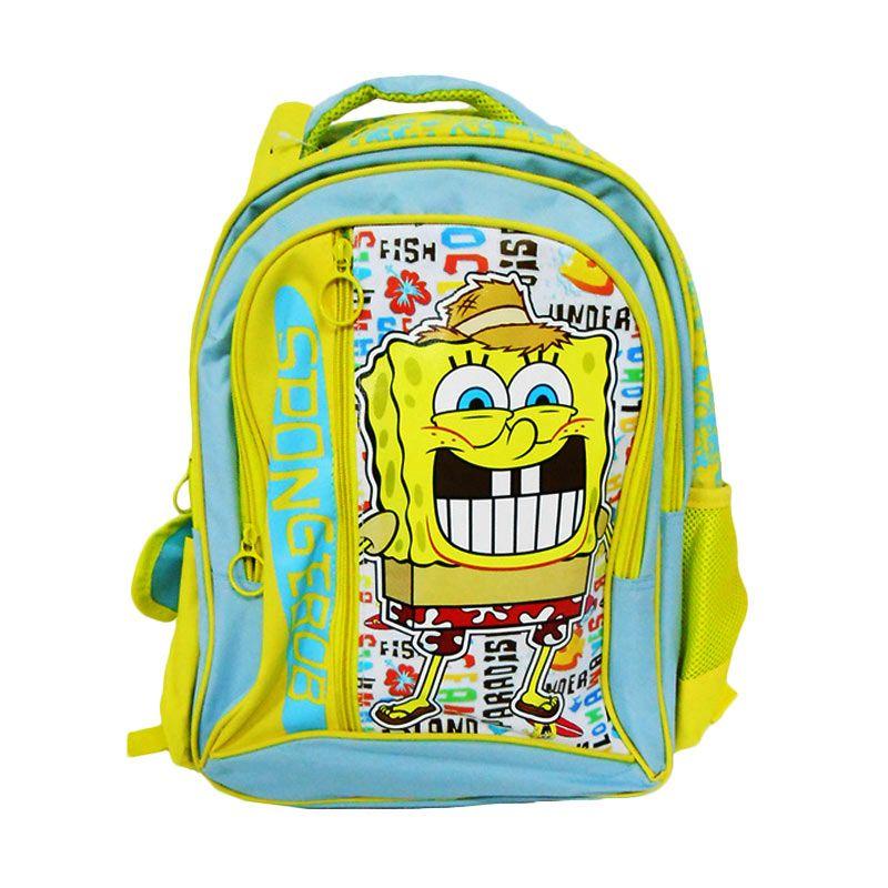 Nickelodeon Spongebob Kuning Tosca Tas Sekolah [16 Inch]