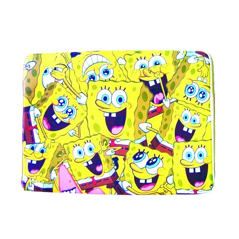 Nickelodeon Spongebob Laptop Sleeve Yellow Tas Anak