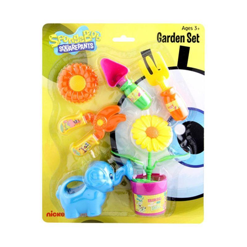 Nickelodeon Spongebob Set Garden Mainan Anak