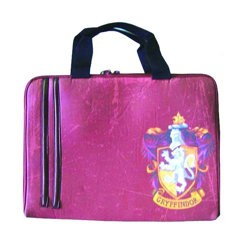 Warner Bros Harry Potter Laptop Sleeve Gryffindor Pink Tas Anak