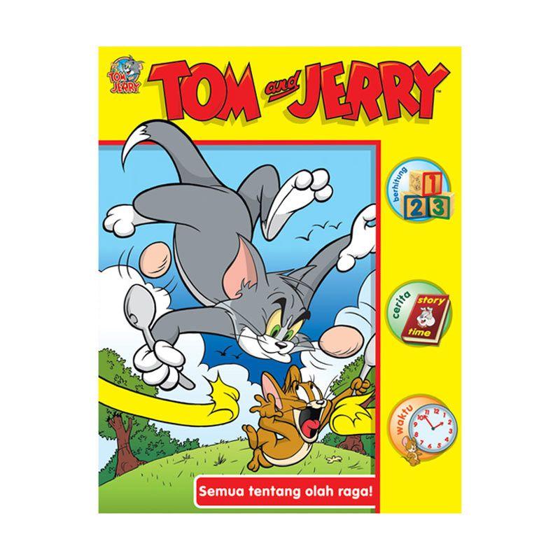 Warner Bros Tom and Jerry Buku Aktivitas Semua Tentang Olahraga Buku Anak