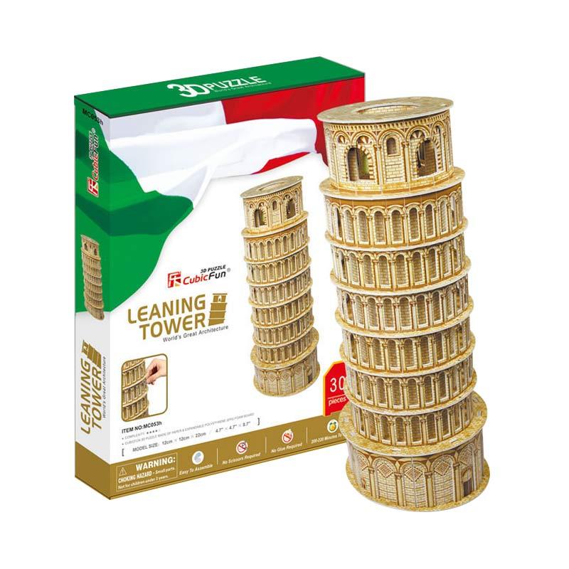 harga CubicFun Leaning Tower of Pisa Mainan Puzzle Blibli.com